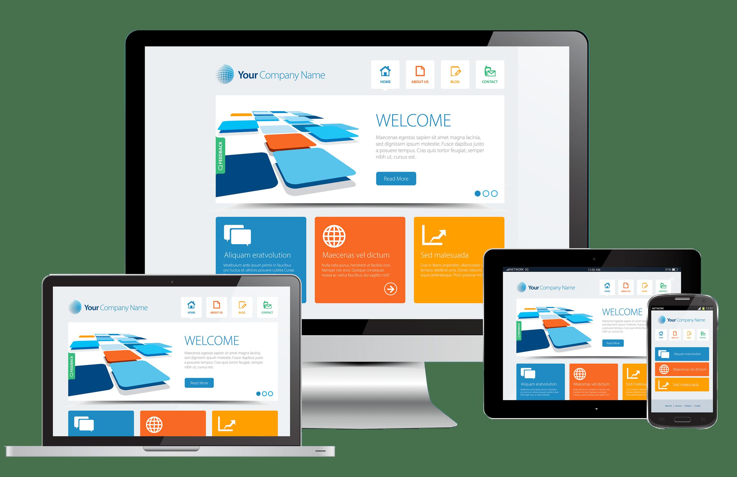 Crear una pagina web profesional Crear website